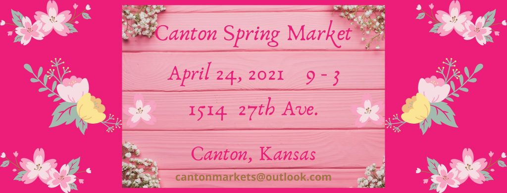 April market date is April 24th, 2021 from 9am to 3pm